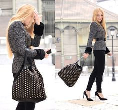 The perfect jacket (by Henar Vicente) http://lookbook.nu/look/2734431-The-perfect-jacket