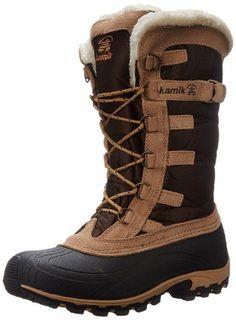 5c46e98d7f7 Kamik Women s Snowvalley Winter Boots Brown Size 8.0M Winter Wear