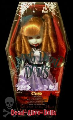Living Dead Dolls Orchid-New, Sealed and Near Mint