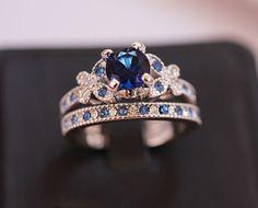 Fairytail Rhodium Ring Set (2 pc) #Unbranded