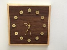 Shotgun Shell (spent) Clock (s)
