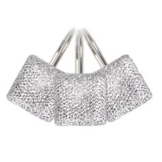 Diamonds Crystal Shower Curtain Hooks by Famous Home Fashions