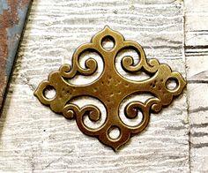 Vintage Keeler Brass Company N3814 Large Decorative Furniture