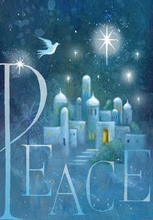 Dove/Bethlehem Christmas Cards