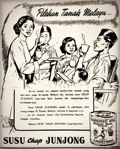 Newsprint Ad 1950 / 60s for Milkmaid Condensed Milk