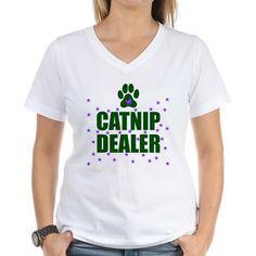 CATNIP DEALER Shirt on CafePress.com