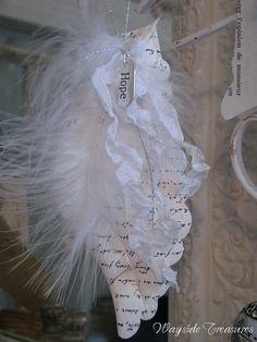 Neat angel wing