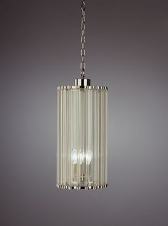 Robert Abbey Cole 5 Light Pendant in Polished Nickel - S3337 ...