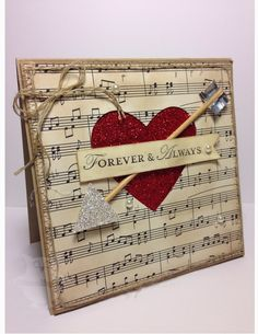 Forever & Always by Dani D - Cards and Paper Crafts at Splitcoaststampers Hand Made Greeting Cards, Making Greeting Cards, Valentine Greeting Cards, Valentine Messages, San Valentin Ideas, Heart Cards, Card Making Inspiration, Scrapbook Cards, Scrapbooking