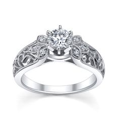 antique filigree wedding rings - Google Search