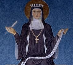 Hildegard of Bingen (1098 – 17 September 1179), also known as Saint Hildegard, and Sibyl of the Rhine, was a writer, composer, philosopher, Christian mystic, German Benedictine abbess and visionary.
