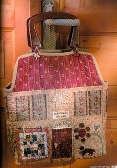 born to quilt bag