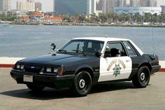 1986 Severe Service Package Ford Mustang - CHiPs LX: What would Ponch and Jon think about Phil Sanchez's '86 CHP SSP Mustang?