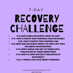 HAPPY TUESDAY ! **7-DAY RECOVERY CHALLENGE!** Tag us in your daily posts! Like & share for friends to join in 😍 #addiction #recovery #sobriety #freedom #AA #treatment #inspiration - Call today if you need the best drug rehab for aetna insurance cigna insurance optum insurance drug rehab and see today what your insurance will cover for detox if you have withdrawal symptoms. Alcohol Treatment, Alcohol Rehab, Withdrawal Symptoms, Addiction Recovery, Transformation Tuesday, Sobriety, Happy Tuesday, Healthy Alternatives