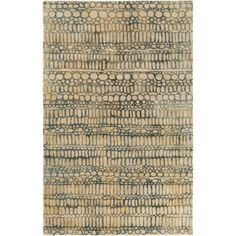 Abin Cream (Ivory) 5 ft. x 7 ft. 6 in. Area Rug