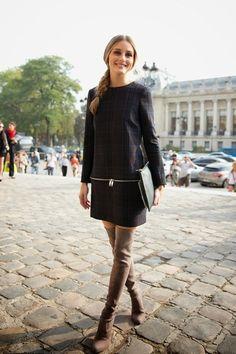 Thigh high boots inspirational post: http://mesvoyagesaparis.com/high-boots-inspiration-wear/