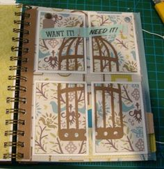 Woodhaven Smash book via Bind-it-All
