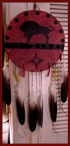 Tatanka Shield, Plains Indian Medicine Shield