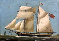 Schooners of the Regency Era by Regan Walker North Devon, Maritime Museum, Regency Era, The Old Days, Sailing Ships, Old Things, Water, Period, British