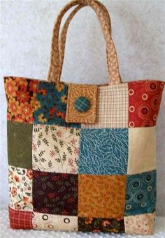 Handmade+Quilted+Tote+Bag