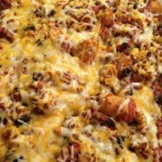 tater tot recipes | Taco Tater Tot Bake Recipe 2 | Just A Pinch Recipes