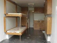Cargo Trailer Camper Conversion Living Quarter