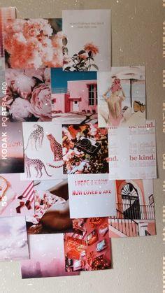 ropa aesthetic videos Pretty in Pink Print Kit – Heartman Cute Room Ideas, Cute Room Decor, Teen Room Decor, Beachy Room Decor, Room Wall Decor, Bedroom Wall Collage, Photo Wall Collage, Picture Wall, Photowall Ideas