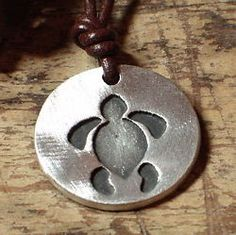 Hawaiian Sea Turtle Turtles Pendant