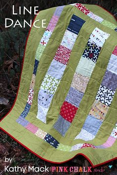 Woohoo, I LOVE this quilt. It's so easy and fun to make. One Charm Pack and 1.5 yards of fabric. Enjoy. xo Kathy