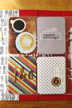 December Daily via A Beautiful Mess #cards