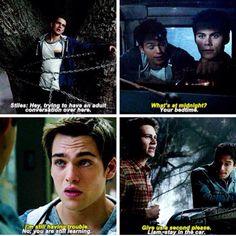 Scott and Stiles parenting Liam. Teen Wolf Season 5 Episode 1