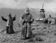 leradr:  Ritual Dancers, Limitang, Humla, Nepal1985Gelatin-silver print11 x 14 inchesCourtesy Kevin Bubrisk