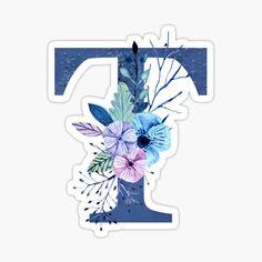 Free Printable Alphabet Letters, Alphabet Stencils, Alphabet Cards, Printable Stickers, Winter Bouquet, Winter Flowers, Alpha Art, Monogram Wallpaper, Peacock Wall Art