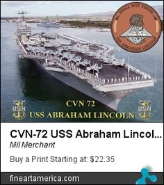 USS Abraham Lincoln is the fifth Nimitz-class aircraft carrier in the United States Navy. It is the second Navy ship to have been named after former President Abraham Lincoln and she is a member of the United States Atlantic Fleet. Us Navy Aircraft, Navy Aircraft Carrier, American Revolutionary War, American Civil War, Navy Carriers, Civil War Photos, Rms Titanic, Gettysburg, Pearl Harbor