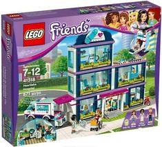 LEGO 41318 Friends Heartlake Hospital - New in Sealed Box - Bubble-Wrapped Lego Ninjago, Lego 4, Van Lego, Lego Minecraft, Lego Batman, Toys R Us, All Toys, Ambulance, Lego Hospital