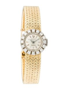 Rolex Vintage Diamond Watch