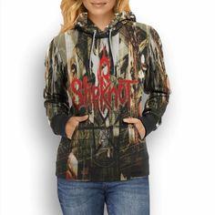 42.99$  Buy now - http://vilgb.justgood.pw/vig/item.php?t=m3qppnm15946 - Slipknot Rock Music New Fullprint Hoodie For Women