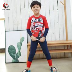 Cheap wetsuits for kids, Buy Quality diving suit directly from China wetsuit for boys Suppliers: A Set Boys Swimsuits Anti-UV Wetsuits For Kids Cartoon Trousers Baby Swimwear Children Diving Suit Beach Wear M-XXL Baby Bikini, Baby Swimwear, Diving Suit, Anti Uv, Costume, Cartoon Kids, Swimsuits, Bikinis, Tankini