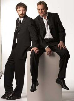 John Simm and Philip Glenister aka the GUV. Loved these two in Life on Mars. A whole, whole lot.