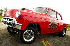 "1953 #Chevy straight-axle Gasser, ""Mister Twister."""