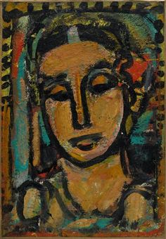 Georges Rouault, Femme on ArtStack #georges-rouault #art
