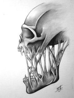 Skull no. 2 by BD3illustrations
