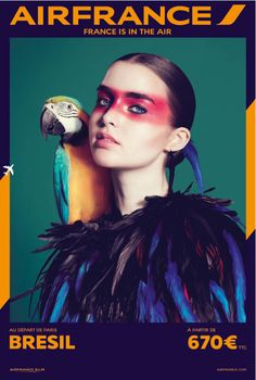 Very cool graphics.. I wonder if it is the same agency Turkish airlines used for their Promo when I was there? air france travel 2014 campaign1 Air Frances New Campaign Takes You on a Fashionable Tour