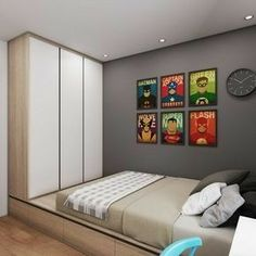 23 new Ideas bedroom apartment small house plans Room Design Bedroom, Home Room Design, Small Room Bedroom, Trendy Bedroom, Home Bedroom, Interior Design Living Room, Bedroom Decor, Bedrooms, Bedroom Apartment