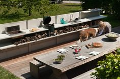 Wwoo outdoor kitchen in anthracite in the uk customize wwoo