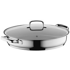 WMF 07 6150 6380 Fish/Gourmet Pan, Stainless Steel with Durit Protect Plus Non-Stick Coating, Silver * To view further for this item, visit the image link. (This is an affiliate link and I receive a commission for the sales) Kitchen Items, Kitchen Utensils, Kitchen Stuff, Kitchen Tools, Carbon Steel Pan, Black Kitchen Decor, Specialty Cookware, Pot Lids, Steel Wool