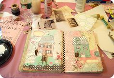 beautiful art journal