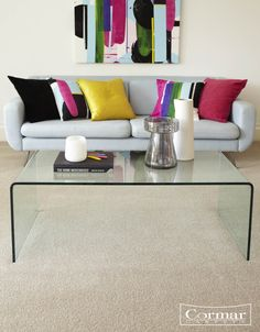 Heather twist polypropylene, Primo Choice, is easy clean, stain resistant and bleach cleanable. It comes in 12 bestselling heather shades, and retails from just £20 per sq m.  Shown in colour:  Vellum