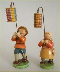 Zwei alte Blumenkinder, Laternenkinder, Wendt & Kühn | eBay, sold for EUR 42,50