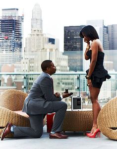 The unexpected proposal! <3